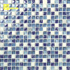 Mattonelle di mosaico di cristallo casuali verde blu per la piscina