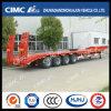 Cimc de Semi Aanhangwagen van Lowbed van de recht-Straal van Huajun 4axle