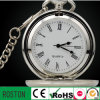 2014 Relógio de bolso personalizado em latão com movimento japonês