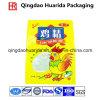 Sacs en plastique pour emballage alimentaire pour essences de poulet avec fenêtre claire