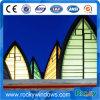 Impreso Arte de cristal Decoración de cristal pared de cortina