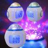 夜空の星多彩なプロジェクターデジタル時計