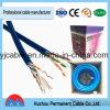 Pares Twisted sin blindaje de la categoría 6 de U/UTP 4 del cable de la red (sólido)