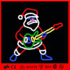 크리스마스 주제 산타클로스 옥외 LED 밧줄 빛