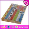 Toy educacional Jigsaw Puzzle Games para Kids, Wooden Jigsaw Puzzle Toy para Children, Colorful Baby Jigsaw Puzzle Blocks W13A059