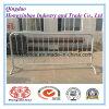 금속 군중 통제 방벽 휴대용 바리케이드 도보 방벽 담