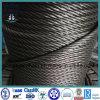 Ungalvanized와 직류 전기를 통한 철강선 밧줄 6X37+Iwr