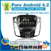 Reproductor de DVD puro de Android 4.2 Car para Ford Focus 2012 con la PC Radio Bluetooth Car Kit TV del GPS