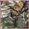 100%년 폴리에스테 잎 패턴 인쇄에 의하여 접착되는 내부고정기 직물