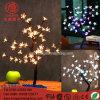 Décoration de Noël d'éclairage LED Bonsai paysage Cherry Tree lumière