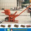 Kleine manuelle blockierenziegelstein-Maschine des lehm-Qmr2-40 ohne elektrisches