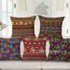 D&eacute casero; El lino del algodón del corazón imprimió la cubierta del amortiguador para el sofá (35C0157)