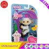 Ново! Белизна игрушки любимчика обезьяны младенца Sophie Fingerlings взаимодействующая