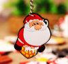 Aduana en PVC común Keychain /Keyring /Keyholder (YB-KH-451) de la Navidad