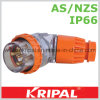 IP66 5pin 32A Industrial Plug Socket
