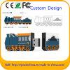 Personalizado PVC 3D Flash USB Pen Drive para o presente da promoção