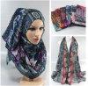 パターンデザインHijab新しい花Amira多色刷りのイスラム教のHijabのスカーフ