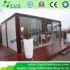 Casa de recipiente de móveis modulares pré-fabricados em madeira de jardim