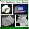 Tarjeta ampliada blanca del PVC del material de construcción para la cabina