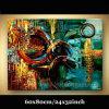 100%の手塗りの抽象的なキャンバスの油絵(KLA1-0097)