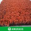 Hierba artificial del color rojo/verde del tenis de la alta calidad de la fábrica profesional