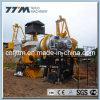 mini misturador móvel do asfalto 10TPH, planta de mistura do asfalto
