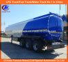 remorque lourde de camion de réservoir de carburant du Tri-Essieu 45cbm