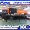 Stahlplatte mechanischer CNC-Drehkopf-lochende Maschine