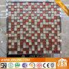 Crema Marfil, el frío Spray y mosaico de vidrio de la superficie convexa (M815052)