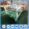 Machine d'impression automatique de transfert thermique de rouleau de grand format