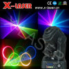 laser de 1.2W Red&Green&Blue Moving Head Animation