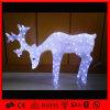 Indicatore luminoso acrilico illuminato attraente esterno della renna di natale LED del viale (OB-CL-0420329)