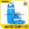 Бутылки воды силикона напольных спортов качества еды изолированные складчатостью
