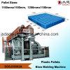 Plastiktellersegmente, Maschine produzierend