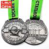 上の販売のカスタム重量挙げ賞の金属メダル