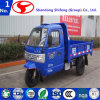 Camion diesel della rotella del cinese tre della baracca Closed
