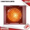 El LED parpadea la luz solar la luz de advertencia de tráfico