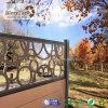 Modèle de luxe de clôture simple de frontière de sécurité de Mi-Treillis pour le jardin
