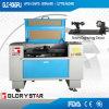 Gravure van de laser en de Scherpe Machine keurden Roterend Apparaat goed