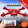 2017 Syma X5uw Drone с WiFi камеры HD 720p трансмиссии в режиме реального времени Fpv Quadcopter 2.4G 4CH RC вертолет Dron Quadrocopter