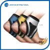 スポーツの圧縮の通気性の足首は銀製カラーのサポート波カッコを保護する