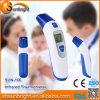 Termômetro infravermelho médico da modalidade dupla da orelha e da testa com serviço de transporte da gota