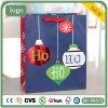 Bolsa de papel, bolsa de papel circular del modelo de la Navidad Ho Ho Ho, bolsa de papel del regalo