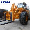 Maquinaria pesada carregador do Forklift de 25 toneladas usado na pedreira