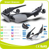 Sicurezza nera Bluetooth MP3 Sunglass di modo