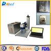 Máquina Handheld de la marca del laser de la fibra para el teléfono, aluminio, madera, plástico
