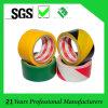 주의와 경고를 위한 노란 검정 PVC 지면 표하기 테이프
