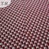 Rotes Geometrie-Polyester-Chenillegewebe für Sofas (FTH31950)