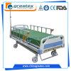 Ручные больничные койки функции кровати 5 с центральной системой замка (GT-BM1102)