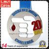 Fabrik-Preis-Silber-kundenspezifische Herausforderungs-Sport-Metallmedaille